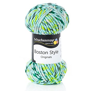 Schachenmayr Wolle Boston Style mint color