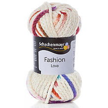 Schachenmayr Wolle Lova, natur multicolor