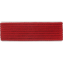 buttinette Cordon pour vestes, rouge