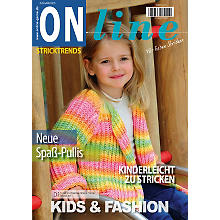 Online Strickheft 'Stricktrends Kids & Fashion'