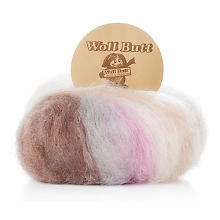 Laine Woll Butt Primo Sophie, rose multicolore