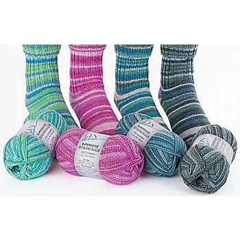 ONline Wolle Supersocke Cotton Stretch Color
