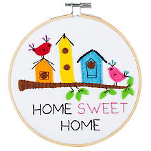 Stickset 'Home Sweet Home' Ø 15 cm