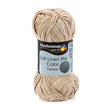 Schachenmayr Wolle Soft Linen Mix Color