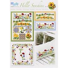 Stickvorlage 'Hello Sunshine'