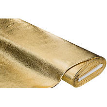 French Terry mit Goldfolien-Druck, gold