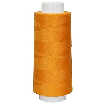 buttinette Fil pour surjeteuse, orange, grosseur : 120, 2500 m