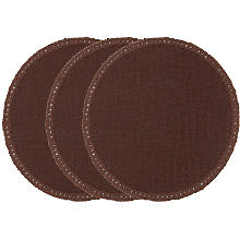 buttinette Napperons à crocheter 'Cercle', marron