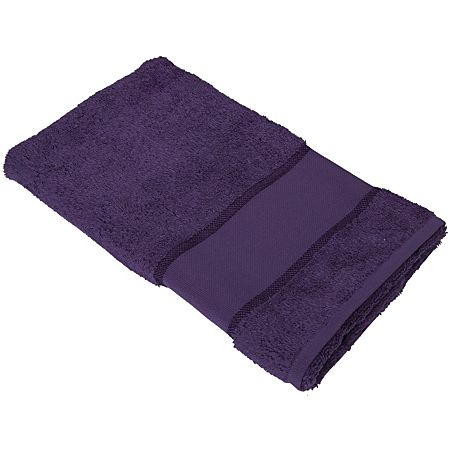 buttinette Serviette de toilette, violet