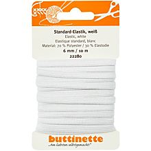 buttinette 'Standard-Elastik' 6 mm
