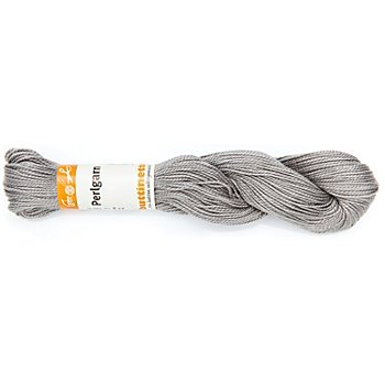 buttinette Perlgarn, grau