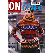 Online Strickheft 'Stricktrends Herbst/Winter 2013'