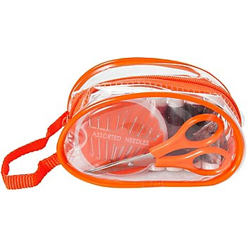 buttinette Trousse de couture de voyage, orange