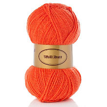 Woll Butt Mary - Acrylgarn, orange