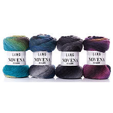 Lang Yarns Wolle Novena Color
