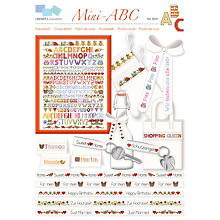 buttinette Livret broderie 'Mini ABC'