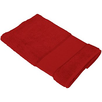 buttinette Serviette de toilette, rouge