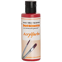 buttinette Acrylfarbe, rot