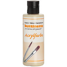 buttinette Acrylfarbe, sand, 80 ml