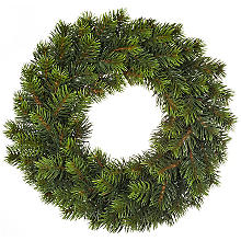 Couronne de sapin artificiel, Ø 28 cm