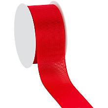 Stoffband, rot, 40 mm, 10 m