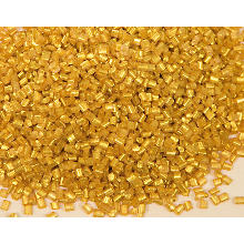 Schmelzgranulat (Colouraplast) gold, 100 g