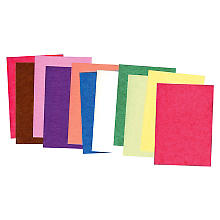 Set de papier transparent multicolore, A4, 20 feuilles
