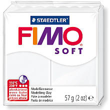 Fimo-Soft, weiss, 57 g