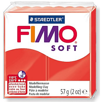 Fimo-Soft, rot, 57 g