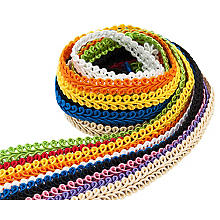 Galons de passementerie buttinette - paquet surprise, multicolore
