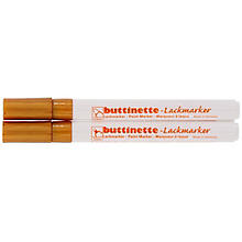 buttinette Lackmarker, gold