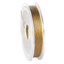 Messingdraht, gold, 0,4 mm, 5 m