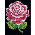 "Sequin Art Paillettenbild ""Rose"""