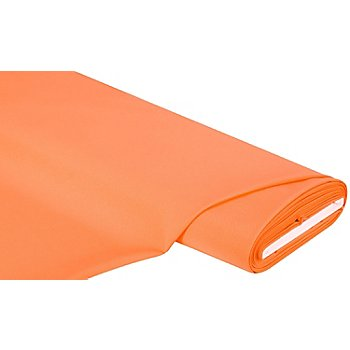 Tissu gabardine en polyester, orange