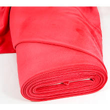 Tissu velours nicky, rouge pourpre
