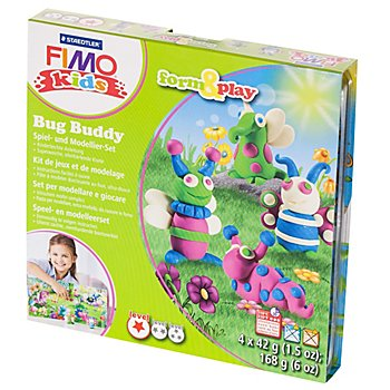 Fimo kids form & play Käfer Freunde