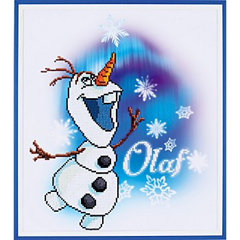 Disney Diamantstickerei-Set 'Olaf'