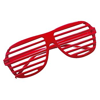 Party-Brille, rot