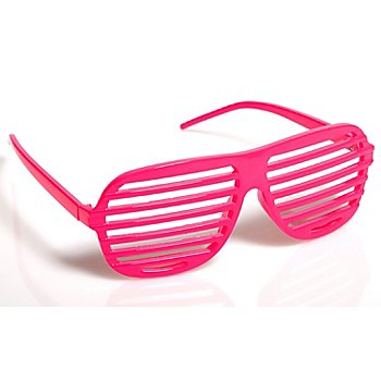 Party-Brille, pink