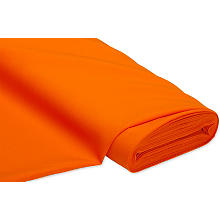 Tissu polyester uni, orange