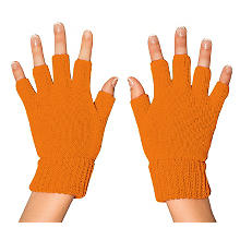 Strickhandschuhe, orange