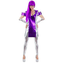 buttinette Déguisement 'Space-Girl' femme, violet