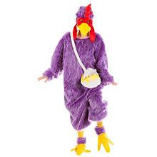 buttinette Crazy Chicken-Overall, lila