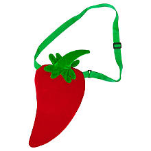 buttinette Tasche Chili, rot