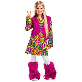 Hippie Summertime Kostum Fur Kinder Online Kaufen Buttinette