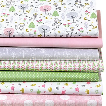 Patchwork- und Quiltpaket 'Magic Forest'