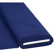 Stretch-Gabardine 'Basic', royalblau