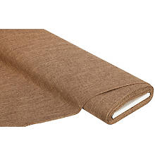 Tissu d'ameublement 'Cannes', toffee
