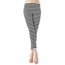 Ringel-Leggings 'Black Stripes'
