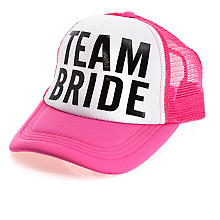 Cap 'Team Bride'